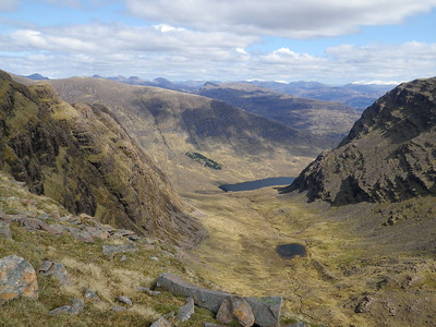 One of the many great corries in the Applecross area