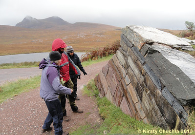 """What goes where?"" Getting to grips with the geology at Knockan Crag"
