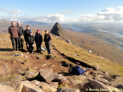 Cracking day on Suilven