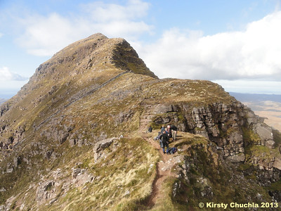 Bealach Mor on Suilven