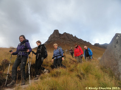 Descending from Stac Pollaidh