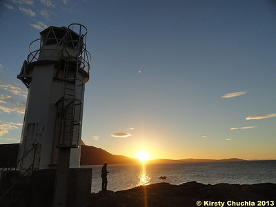 Sunset at Rhue Lighthouse...what a great start to the trip!