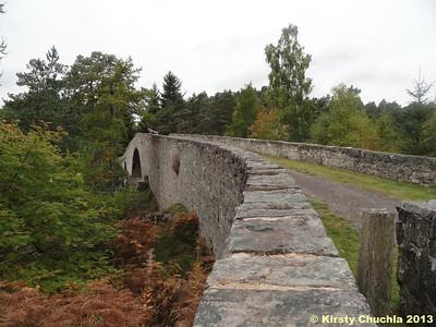 Major Caulfields Military road bridge crossing the Black Water river