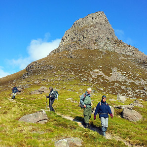 Descending Stac Polly.