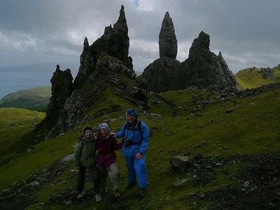The Old Man of Storr and the Needle, Isle of Skye.