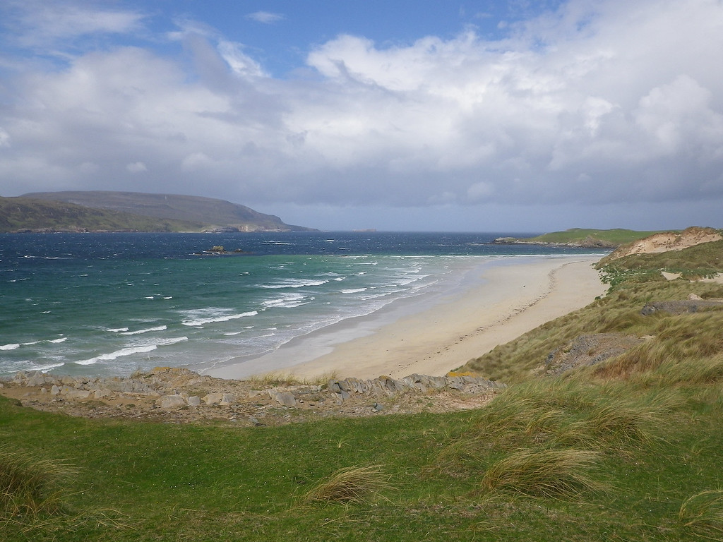 One of the many spectacular beaches around Durness