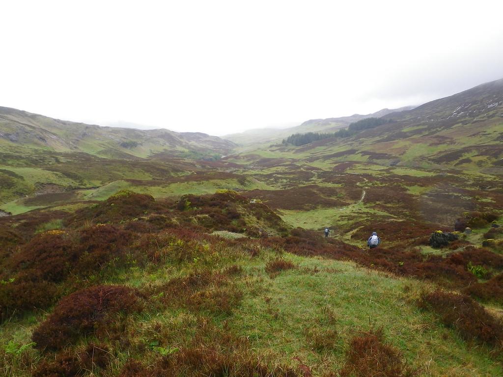 The interesting landscape of Gleann Dubh