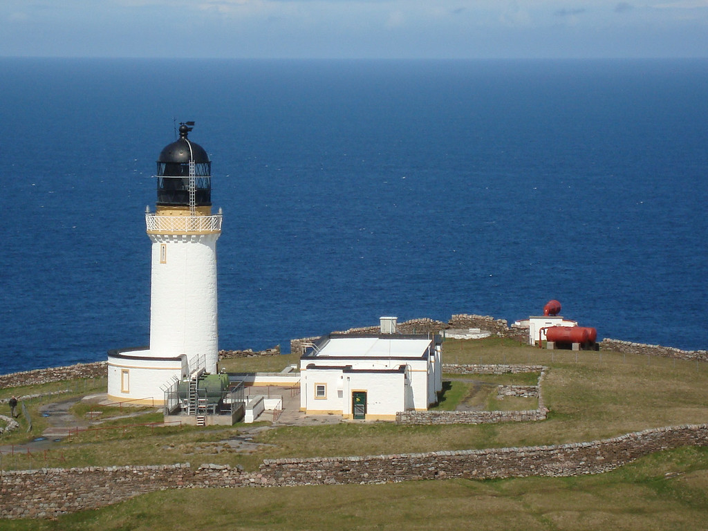 The lighthouse at the end of the world - Cape Wrath