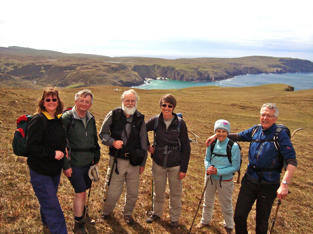 The fine walking and great views of Cape Wrath