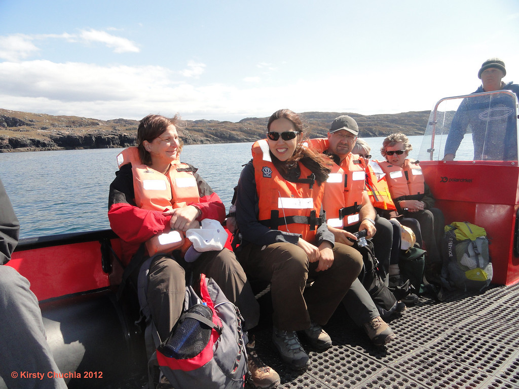 A sunny boat ride back to Tarbet