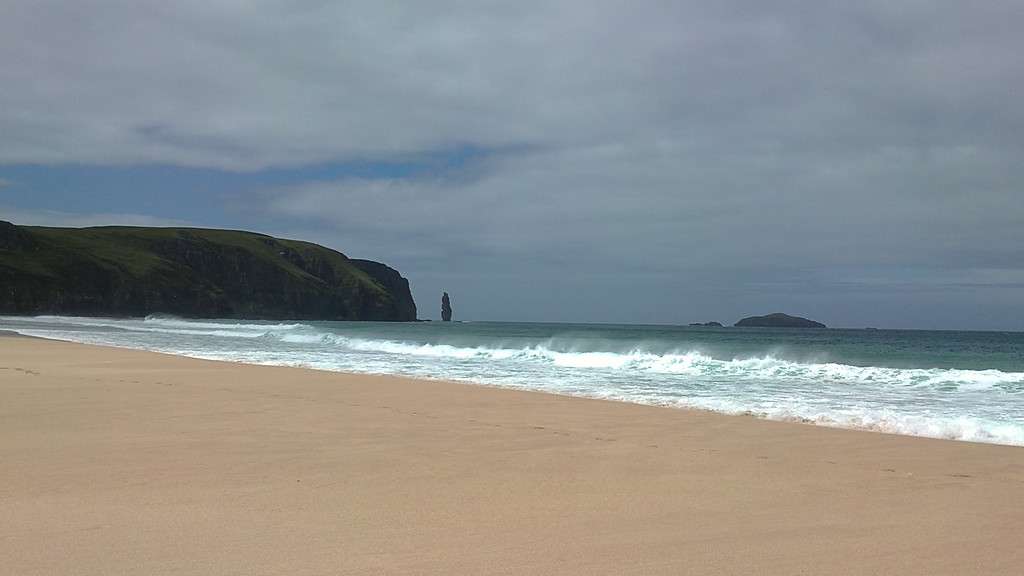 The Spectacular Sandwood Bay