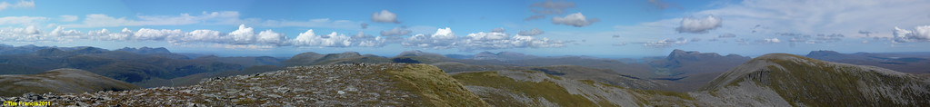This is the NW Highlands from Ben Hee - what a panorama.