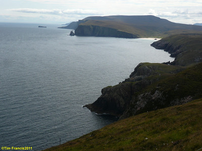 Looking east from Cape Wrath.