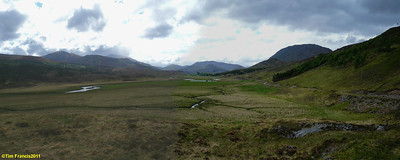 We had Strathfarrar all to ourselves.
