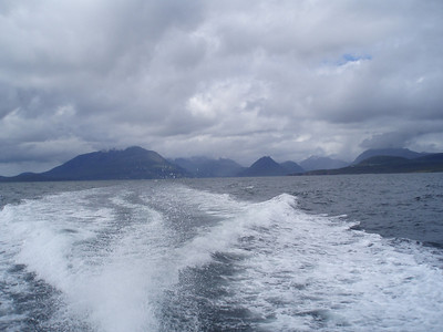 The Cuillin from Loch Scavaig.