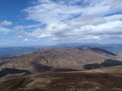 View from top of Sgurr Coire Choinnichean
