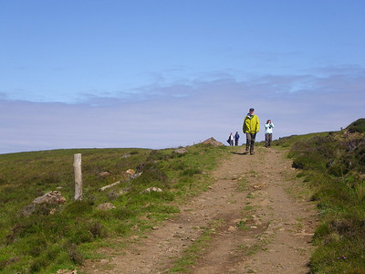 Paul leading the way in Waternish