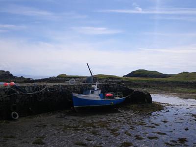 Low tide at Rodel