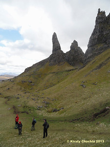 The towering pinnacle of the Old Man of Storr
