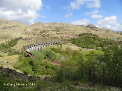 Glenfinnan Viaduct...what a nice detour!