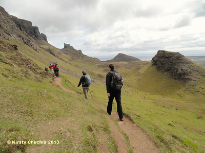 Stepping it out on the Quiraing