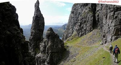 The Needle, Quiraing, Skye.