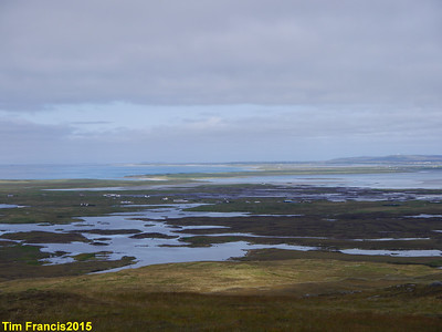 The view from Rueval, Benbecula.