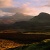 Bioda Bhuidhe, Trotternish Ridge, The Quiraing, Isle of Skye, Scotland