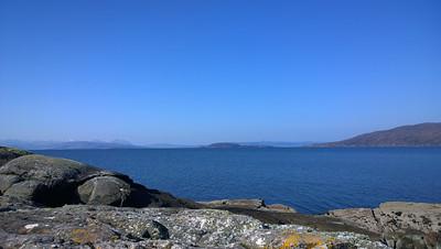 Crowlin Islands, Skye, Raasay and the Applecross peninsula.