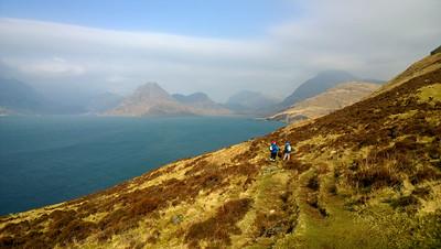 Looking from Elgol towards the Black Cuillins, Skye.