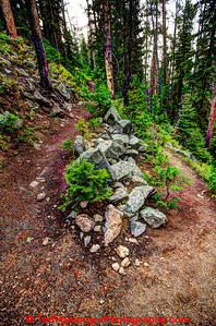 Switchback Wind River Crest Trail