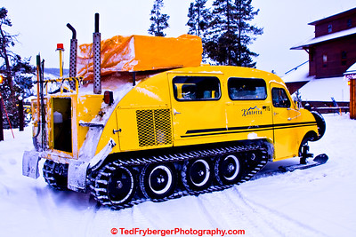 The Snow Beast Yellowstone