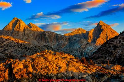 Evolution Peaks Sunset