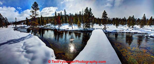 Snowy Bridge CDT Yellowstone