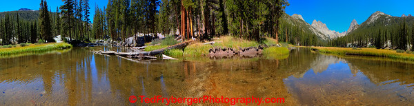 McClure Meadow 360 Kings Canyon NP