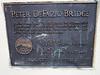 Bridge plaque