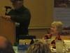 Executive secretary Peg Greiwe makes BCHA meeting run smoothly
