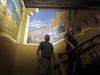 Historic murals inside Albuquerque's Kimo Theatre