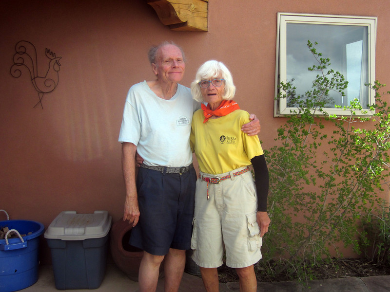 First night's Santa Fe hosts--Norma and Bob