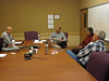 Wilderness 50th planning at BLM state office-Mark Conley, James, Lee Lambert,and State Director Juen