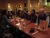 The gang at dinner-Greg Hansen joined us next day