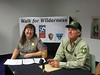 Dana Dierkes,  NPS, and Ralph Swain, Forest Service