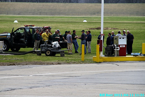 Training at Wyoming Valley Airport 4/11/11