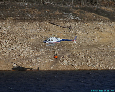 Helicopter Loading at FE Walter Dam Fire