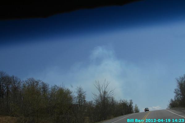 Tresckow Fire 4/19/12