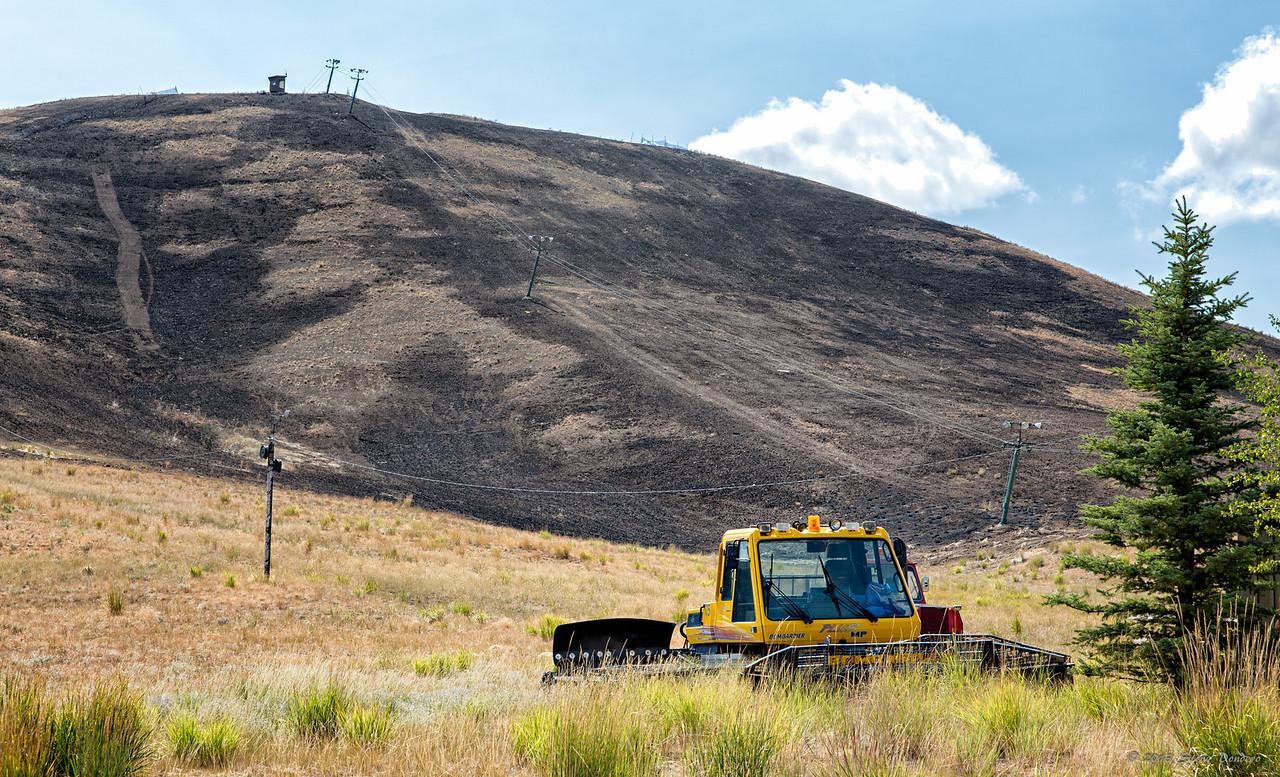 Rotarun ski hill, Hailey.  August 25, 2013.