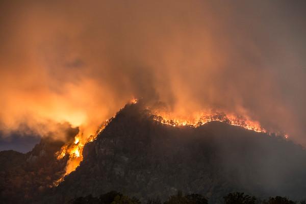 Lake Lure Fire, 2016
