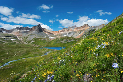 Ice Lake Basin Overlook
