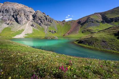 Island Lake - Flower Bed