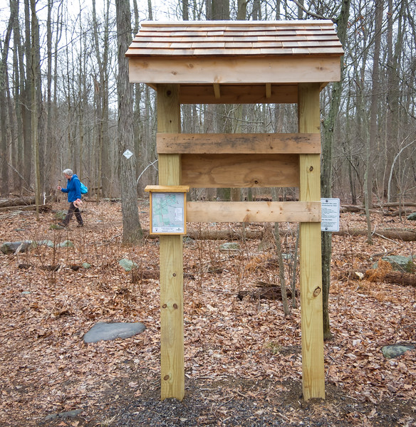 Brockton Audubon Preserve Sanctuary new kiosk